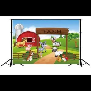 Farm backdrop 5x3ft